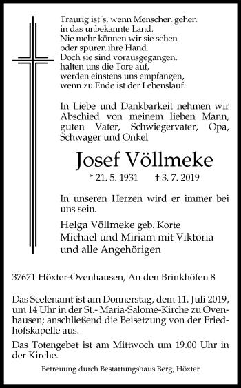 Bestattungen Berg Höxter Wwwwb Trauerde